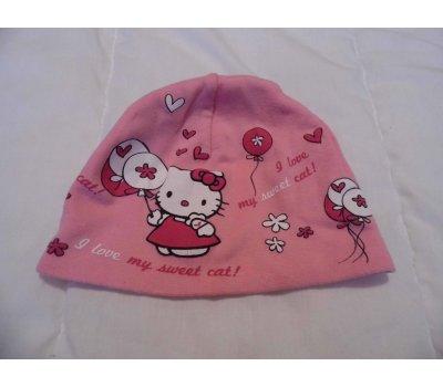 Dívčí čepice Hello Kitty