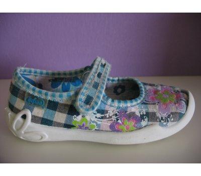 Dívčí domácí obuv Befado, vel. 25