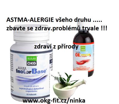 Astma,alergie,lupenka atopický ekzém