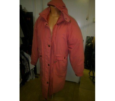 Dámský kabát Bing dilian s kapucí