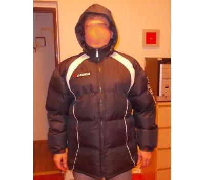 NOVÁ luxusní nádherná pánská zimní bunda italská značka Legea Legea
