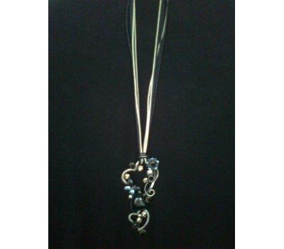 Jarní náhrdelník s motýlkem