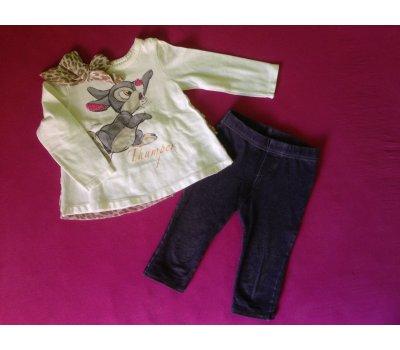 Komplet tričko / tunika a legíny s Dupíkem (9 měs.) Disney