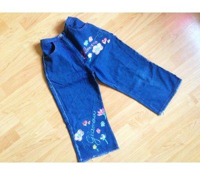 Dívčí letní tříčtvrteční kalhoty (7 - 8 let) Oviesse Giris