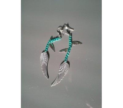 Náušnice s křídly
