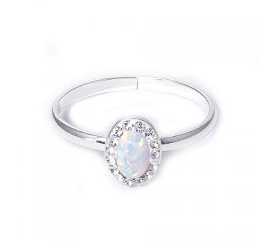 Prsten Opal stříbrný