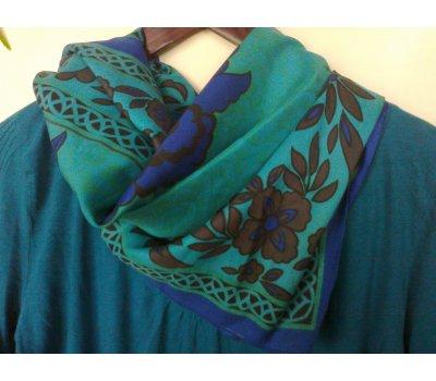 ZDARMA!!! Modro-zelený šátek