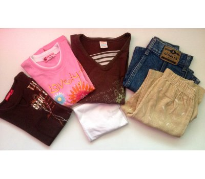 Mix oblečení pro slečnu (6 - 8 let)