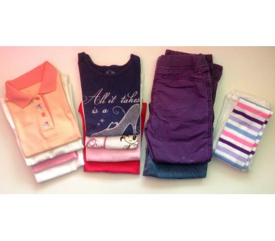 Mix oblečení pro holčičku (4 - 5 let)