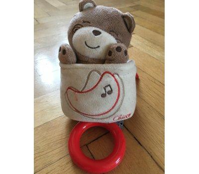 Chicco plyšový hrací medvídek Chicco