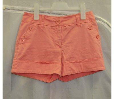 0499 Dámské šortky kraťasy lososové H&M
