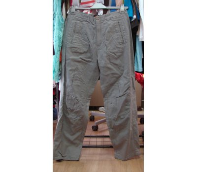 508-955 šedé kalhoty vycházkové Gatonegro