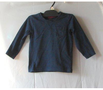 0519 tričko tmavomodré Marks & Spencer