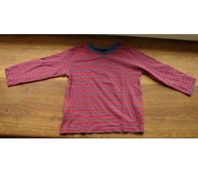 0564 pruhované triko- dlouhý rukáv Store Twenty One