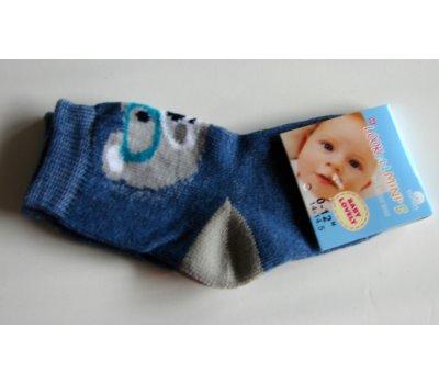 0692-07073 malinké ponožky vel 14-14,5 na 0-12 měsíců