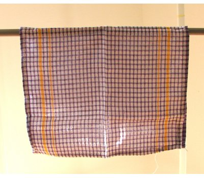 0738-08011 fialová utěrka bavlněná 58 x 35 cm