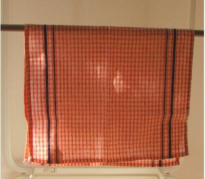 0742-08011 oranžová utěrka bavlněná 58 x 35 cm