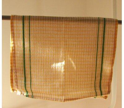 0743-08011 žlutá utěrka bavlněná 58 x 35 cm