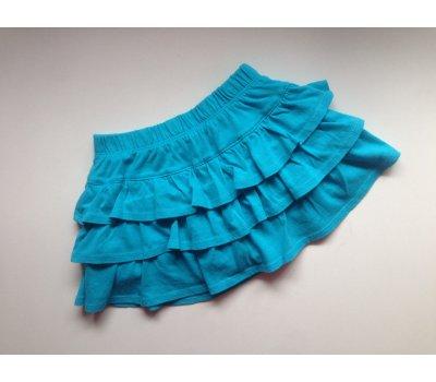 Volánková suknička s kraťáskami (2 - 4 roky)