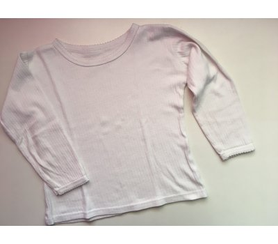 Bavlněné tričko dlouhý rukáv (4 - 5 let)