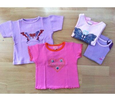 Dívčí trička (3 roky) - 4 ks