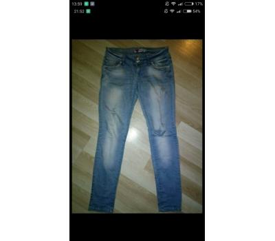 Dámské jeans trhané
