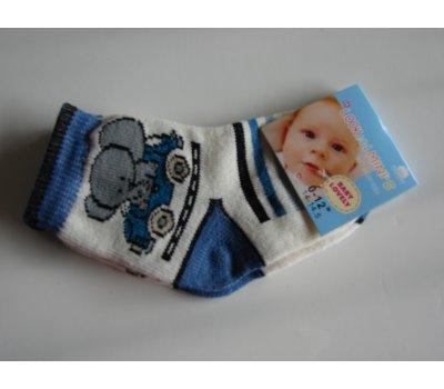 731 malinké ponožky vel 14-14,5 na 0-12 měsíců