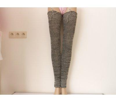 Dámská dlouhé návleky na nohy