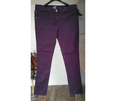 Dámské purpurové kalhoty F&F