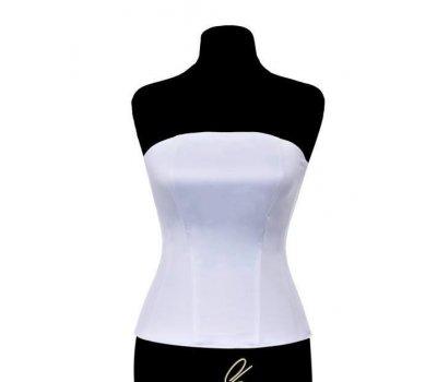 Dámské korzety vhodné na svatební šaty , barva bíla