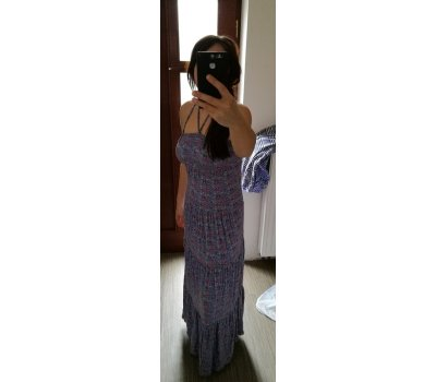 Dámské maxi letni šaty Vila