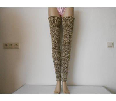 Dámské návleky na nohy s merinem