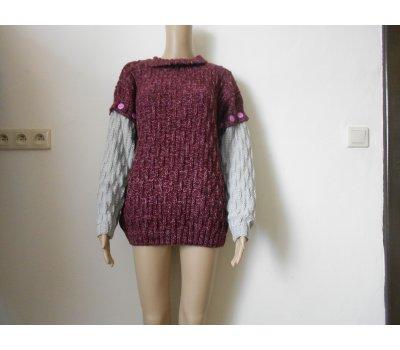 Dámská vesta - svetr s merinem