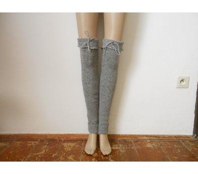 Dámská návleky na nohy s vlnou
