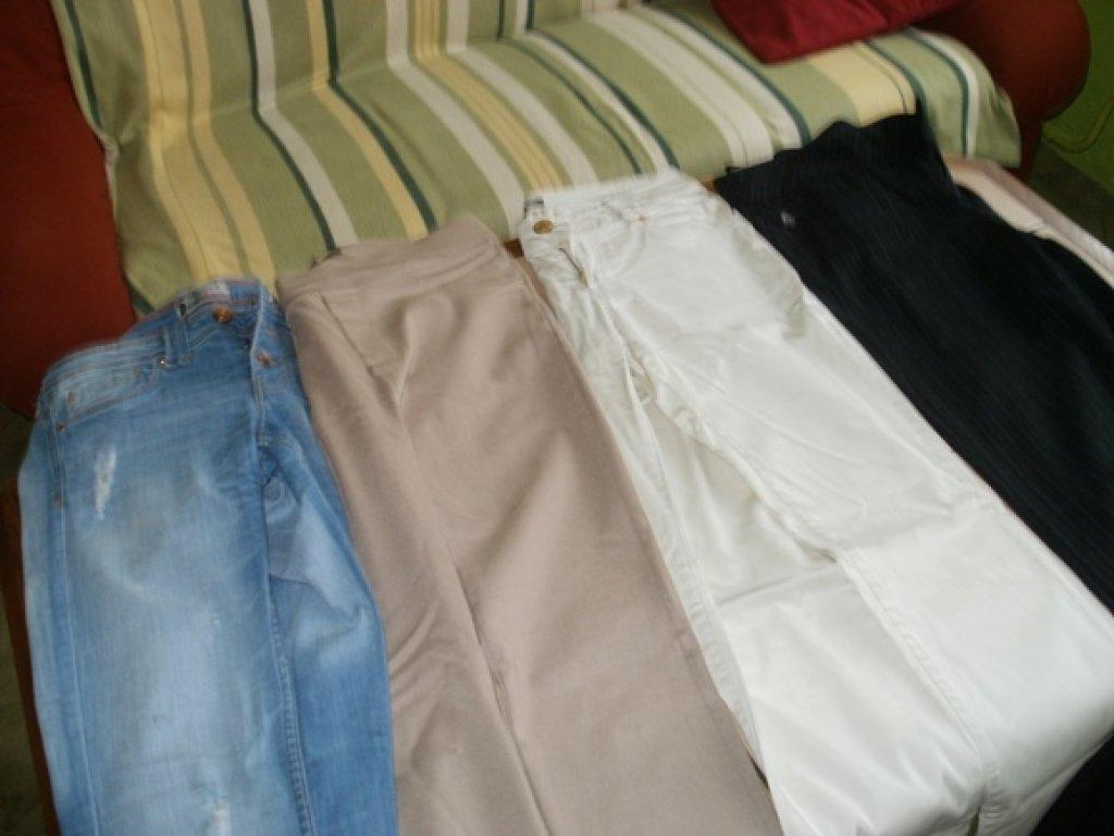 VÝPRODEJ - ČTVERY Dámské kalhoty. prev 1cfe1d1c72
