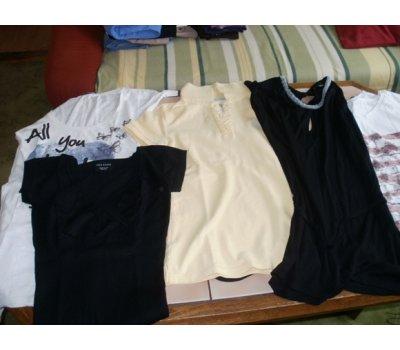 5 značkových triček
