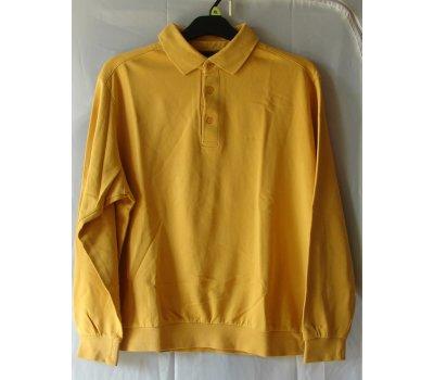 254 Pánská mikina žlutá