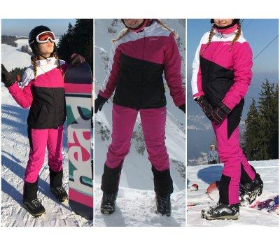 Lyžařská bunda Hannah, kalhoty Loap; vel. S - M