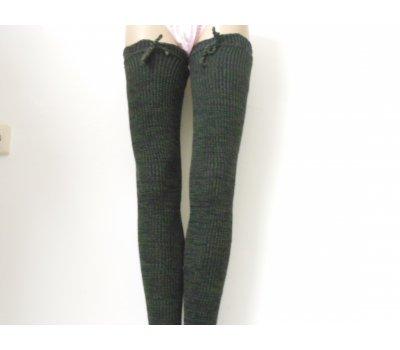 Dámské dlouhé návleky na nohy