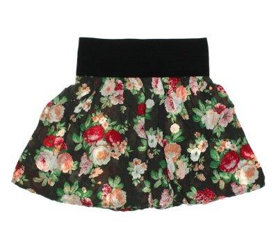 Kytičkovaná sukně Only