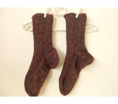 Velmi teplé ponožky s vlnou