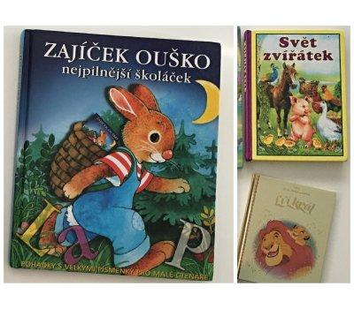 Dětské knihy o zvířátkách