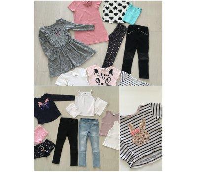 Dívčí oblečení H&M, vel. 122/128 (6 - 8 let) H&M