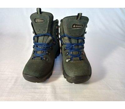 Kožené turistické boty