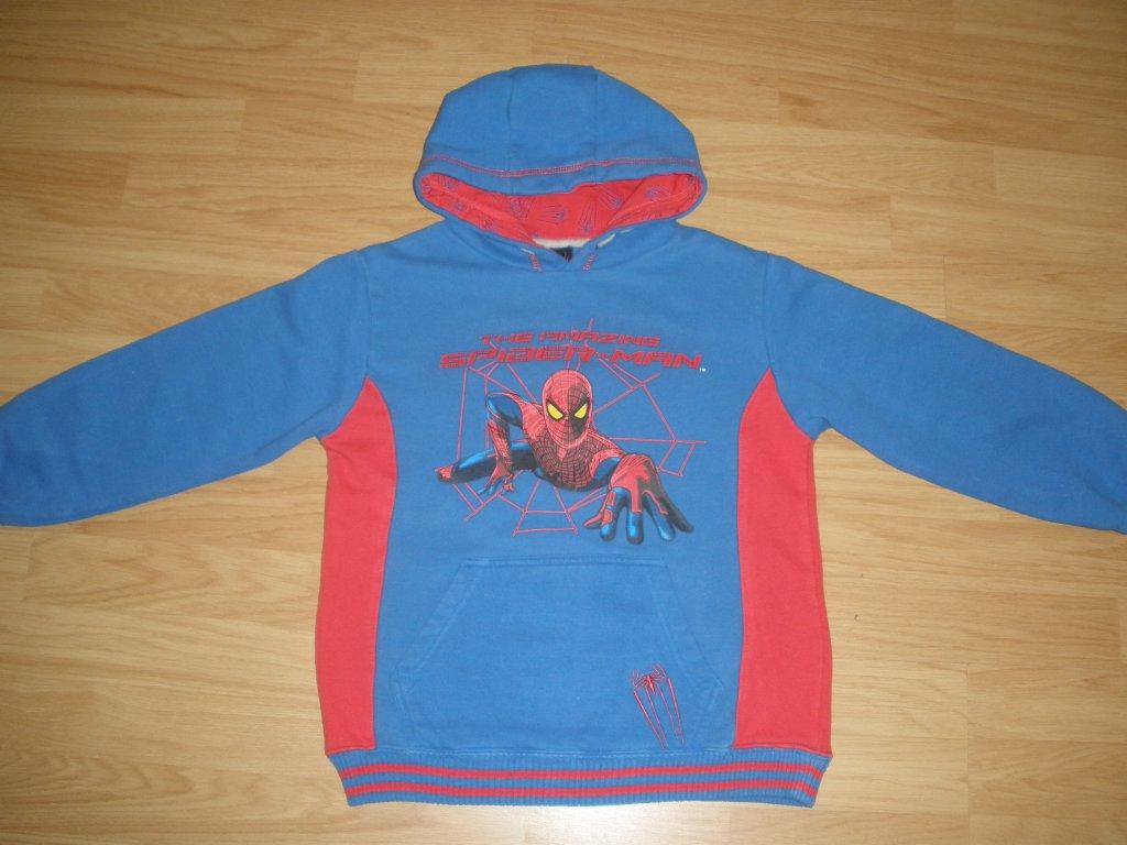 Chlapecká mikina SPIDER-MAN. Prodám ... 631f19cbed