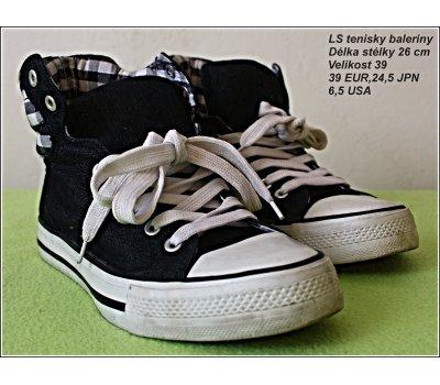 Sportovní boty - baleríny, málo nošené, jako nové vel. 39