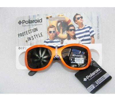 Dětské polarizační brýle Polaroid - oranžové