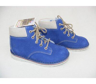 dětská kotníčková celokožená obuv Ricosta