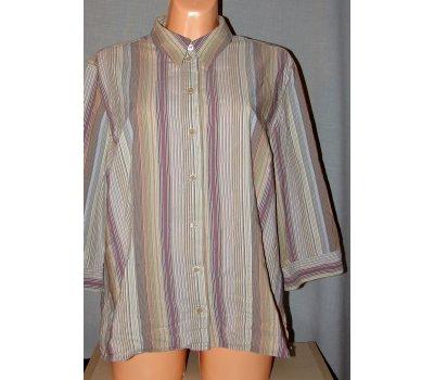 0091 Pruhvaná dámská košile vel.48-50 / XL So Bin Ich So Bin Ich