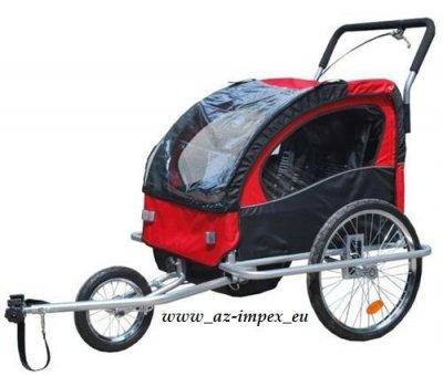 vozík za kolo a kočárek Jogger